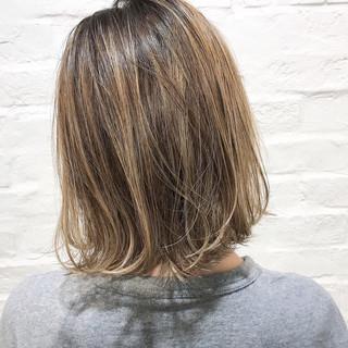 ハイライト 外国人風 シアーベージュ 外国人風カラー ヘアスタイルや髪型の写真・画像 ヘアスタイルや髪型の写真・画像