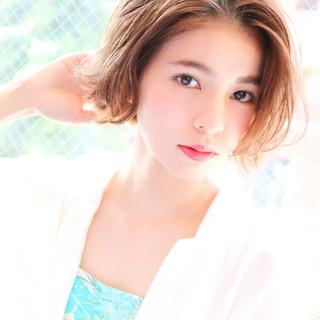 河井エミコさんのヘアスナップ