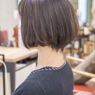 ショートボブ ショートカット ショート ミニボブ ヘアスタイルや髪型の写真・画像