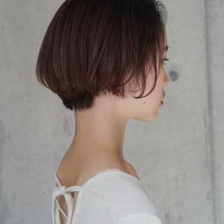 ボブ 小顔 女子力 色気 ヘアスタイルや髪型の写真・画像