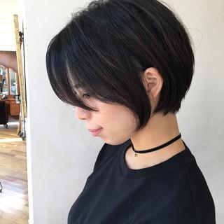 ショート 簡単スタイリング ショートヘア ショートボブ ヘアスタイルや髪型の写真・画像