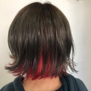 ヘアアレンジ ボブ アウトドア 簡単ヘアアレンジ ヘアスタイルや髪型の写真・画像