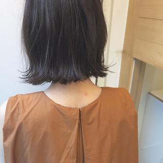 切りっぱなし 大人女子 外国人風 ナチュラル ヘアスタイルや髪型の写真・画像