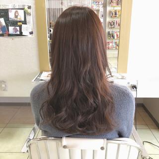 大人かわいい ゆるふわ アンニュイ ロング ヘアスタイルや髪型の写真・画像