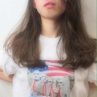 ロング 外国人風 ストリート ハイライト ヘアスタイルや髪型の写真・画像