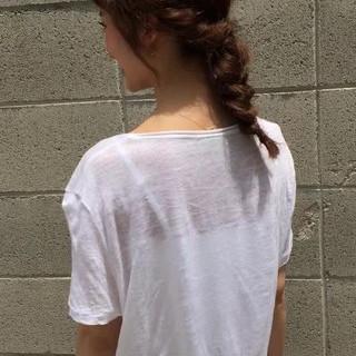 ストリート ゆるふわ ショート ミディアム ヘアスタイルや髪型の写真・画像