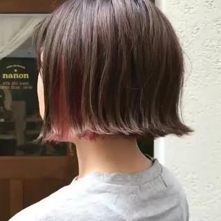 デート モード 色気 ボブ ヘアスタイルや髪型の写真・画像