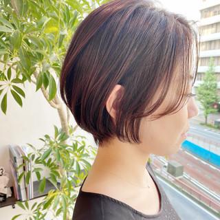 デート オフィス ショート ショートヘア ヘアスタイルや髪型の写真・画像