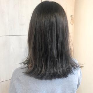 透明感 秋 ストリート ベージュ ヘアスタイルや髪型の写真・画像