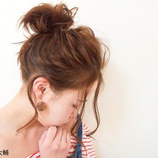 ショート デート ヘアアレンジ 透明感 ヘアスタイルや髪型の写真・画像
