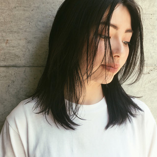 ミディアム 外ハネ マッシュ 色気 ヘアスタイルや髪型の写真・画像