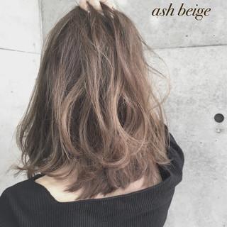 ガーリー 渋谷系 アッシュ 外国人風 ヘアスタイルや髪型の写真・画像