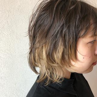 ニュアンスウルフ ウルフ女子 ストリート ネオウルフ ヘアスタイルや髪型の写真・画像