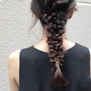 ラフ ナチュラル モード 抜け感 ヘアスタイルや髪型の写真・画像