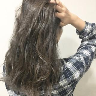 ハイライト ストリート 外国人風 ブラウン ヘアスタイルや髪型の写真・画像