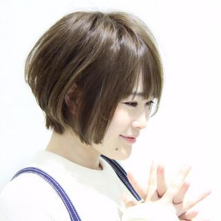 アッシュ 愛され モテ髪 ハイライト ヘアスタイルや髪型の写真・画像