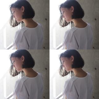 モード フェミニン エフォートレス デート ヘアスタイルや髪型の写真・画像