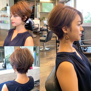 大人ショート ショート 田丸麻紀 30代 ヘアスタイルや髪型の写真・画像