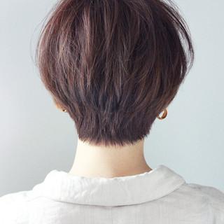 小顔 マッシュ モード ダブルカラー ヘアスタイルや髪型の写真・画像