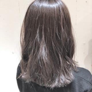 グラデーションカラー 外国人風カラー ミディアム ナチュラル ヘアスタイルや髪型の写真・画像