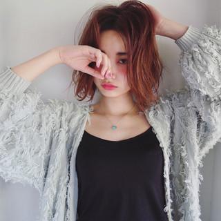 外国人風 モード ストリート ナチュラル ヘアスタイルや髪型の写真・画像