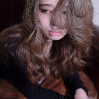 かわいい ストリート アンニュイ ロング ヘアスタイルや髪型の写真・画像