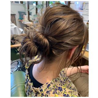 デート 簡単ヘアアレンジ ヘアアレンジ オフィス ヘアスタイルや髪型の写真・画像 ヘアスタイルや髪型の写真・画像