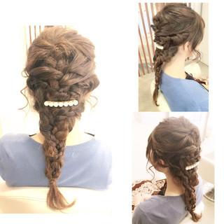 ショート ゆるふわ ハーフアップ ヘアアレンジ ヘアスタイルや髪型の写真・画像