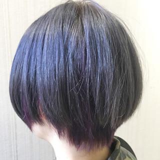 透明感 ショート 秋 ストリート ヘアスタイルや髪型の写真・画像