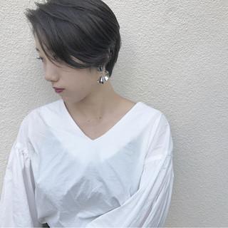 マッシュ ハイライト 秋 透明感 ヘアスタイルや髪型の写真・画像