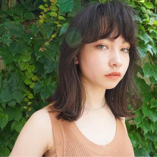抜け感 マッシュ ナチュラル 透明感 ヘアスタイルや髪型の写真・画像