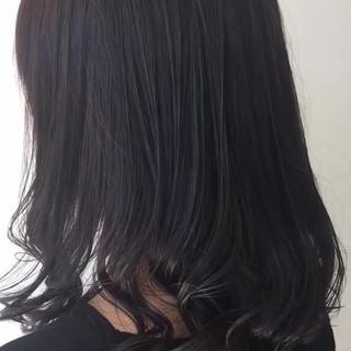 オフィス ヘアアレンジ エレガント ミディアム ヘアスタイルや髪型の写真・画像