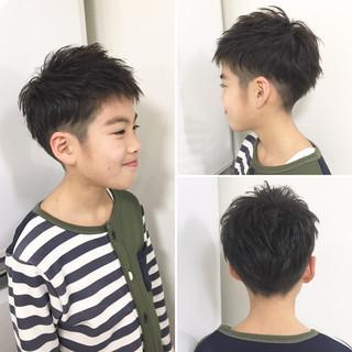 ヘアアレンジ メンズ 子供 ナチュラル ヘアスタイルや髪型の写真・画像 ヘアスタイルや髪型の写真・画像