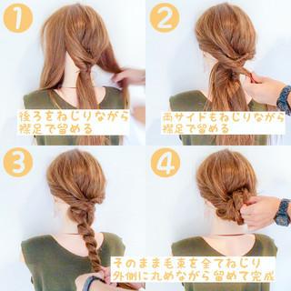結婚式 ヘアアレンジ 簡単ヘアアレンジ アウトドア ヘアスタイルや髪型の写真・画像 ヘアスタイルや髪型の写真・画像