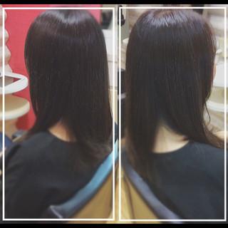 髪質改善カラー 社会人の味方 セミロング 大人ヘアスタイル ヘアスタイルや髪型の写真・画像
