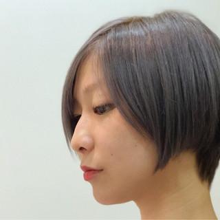 似合わせ デート ショート 小顔 ヘアスタイルや髪型の写真・画像