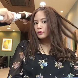 セミロング モテ髪 透明感 ナチュラル ヘアスタイルや髪型の写真・画像