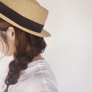 ガーリー ゆるふわ セミロング 簡単ヘアアレンジ ヘアスタイルや髪型の写真・画像