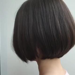 似合わせ オフィス 抜け感 ボブ ヘアスタイルや髪型の写真・画像 ヘアスタイルや髪型の写真・画像