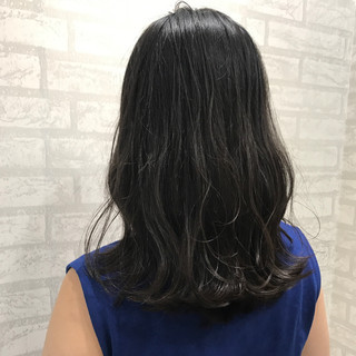 波ウェーブ 秋 ナチュラル 外国人風カラー ヘアスタイルや髪型の写真・画像
