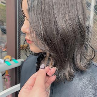 3Dハイライト 大人ハイライト ナチュラル ハイライト ヘアスタイルや髪型の写真・画像