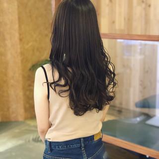 カーキアッシュ ブルーアッシュ 外国人風カラー ブルー ヘアスタイルや髪型の写真・画像