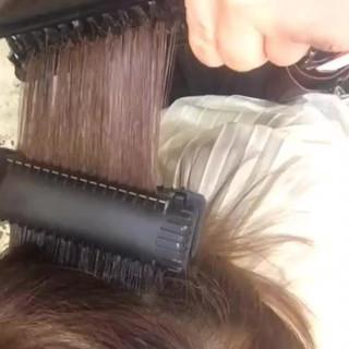 髪質改善トリートメント ツヤ髪 クセ サラサラ ヘアスタイルや髪型の写真・画像