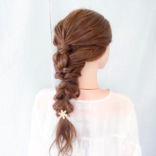ヘアアレンジ ロング ショート 上品 ヘアスタイルや髪型の写真・画像