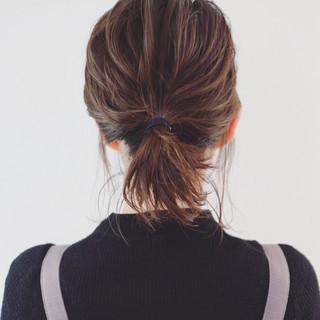 ヘアアレンジ グラデーションカラー ストリート ボブ ヘアスタイルや髪型の写真・画像