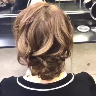 結婚式 ヘアセット エレガント ロング ヘアスタイルや髪型の写真・画像