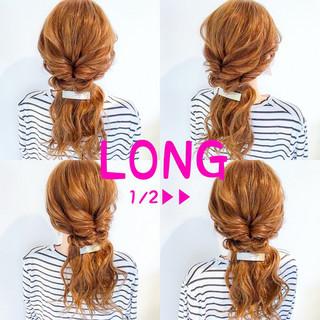 簡単ヘアアレンジ エレガント 上品 オフィス ヘアスタイルや髪型の写真・画像