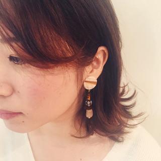 透明感 小顔 大人女子 ガーリー ヘアスタイルや髪型の写真・画像