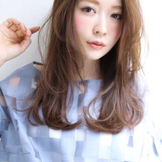ロング 女子会 エレガント 大人かわいい ヘアスタイルや髪型の写真・画像