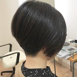 刈り上げ モード ショート ショートボブ ヘアスタイルや髪型の写真・画像